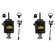 LOT OF 2 Gear Keeper RT3-4112 Heavy Duty Retractable CB Radio Microphone Hanger