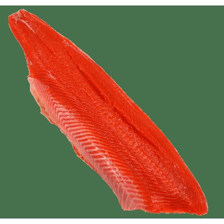 Canvas Print Wild Salmon Fillet Seafood Alaska Sockeye Fish Stretched Canvas 10 x 14