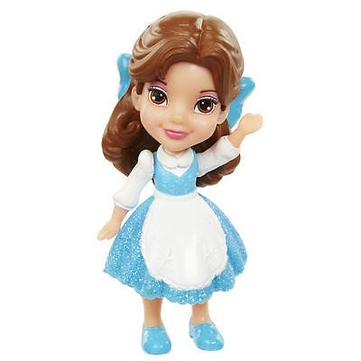 My First Disney Princess Mini Toddler Blue Dress Belle Poseable Doll - Disney Princess Bella