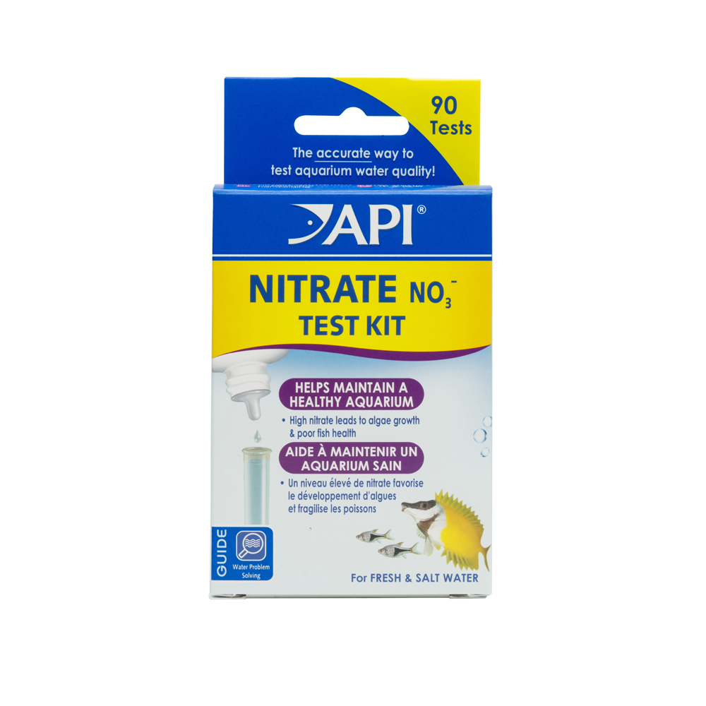 API Nitrate Test Kit, Freshwater And Saltwater Aquarium Water Test Kit, 1-Count