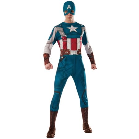 Rubie's Marvel Universe Captain America Costume Multicolor X-Large Costume
