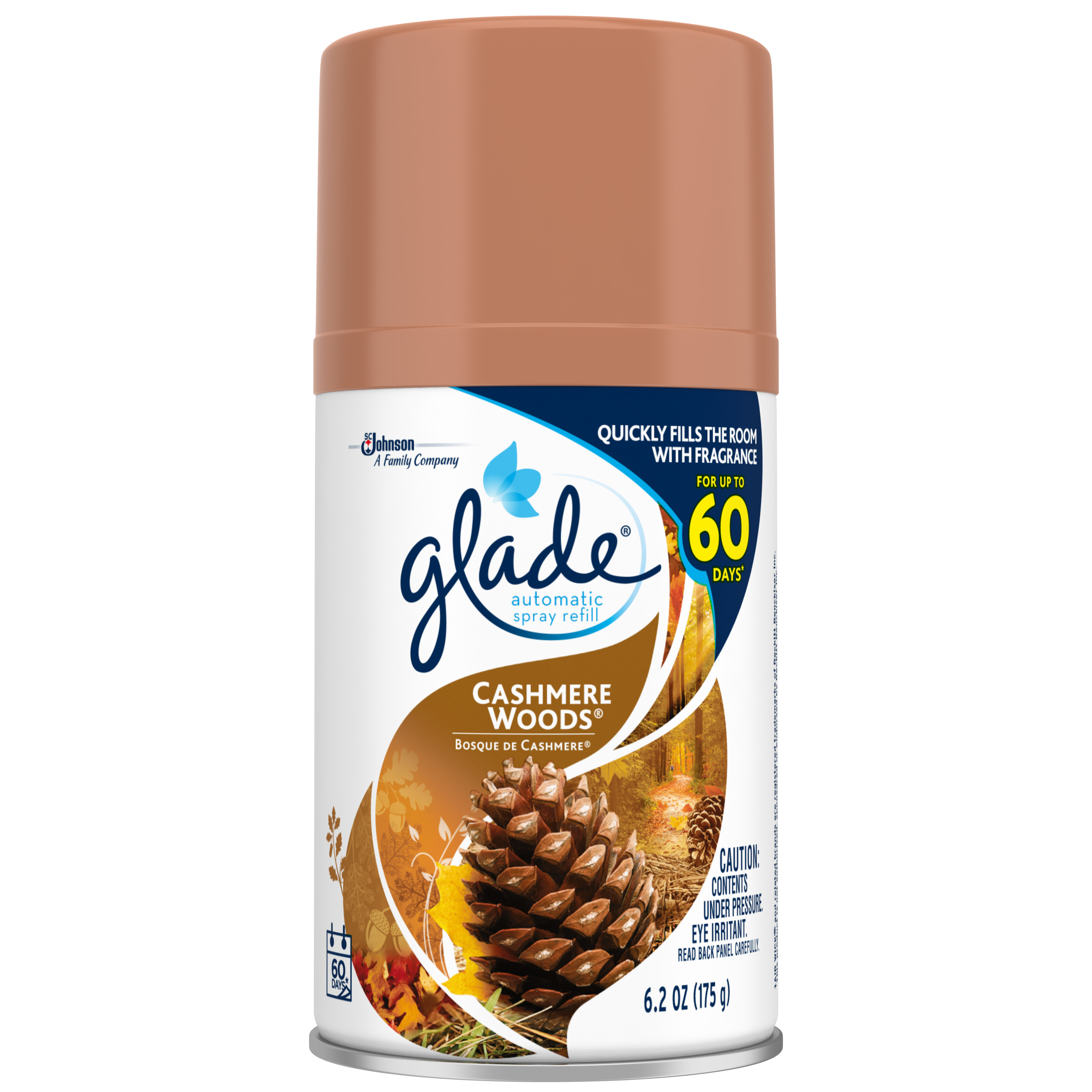 Glade Automatic Spray, Cashmere Woods, 6.2 oz.