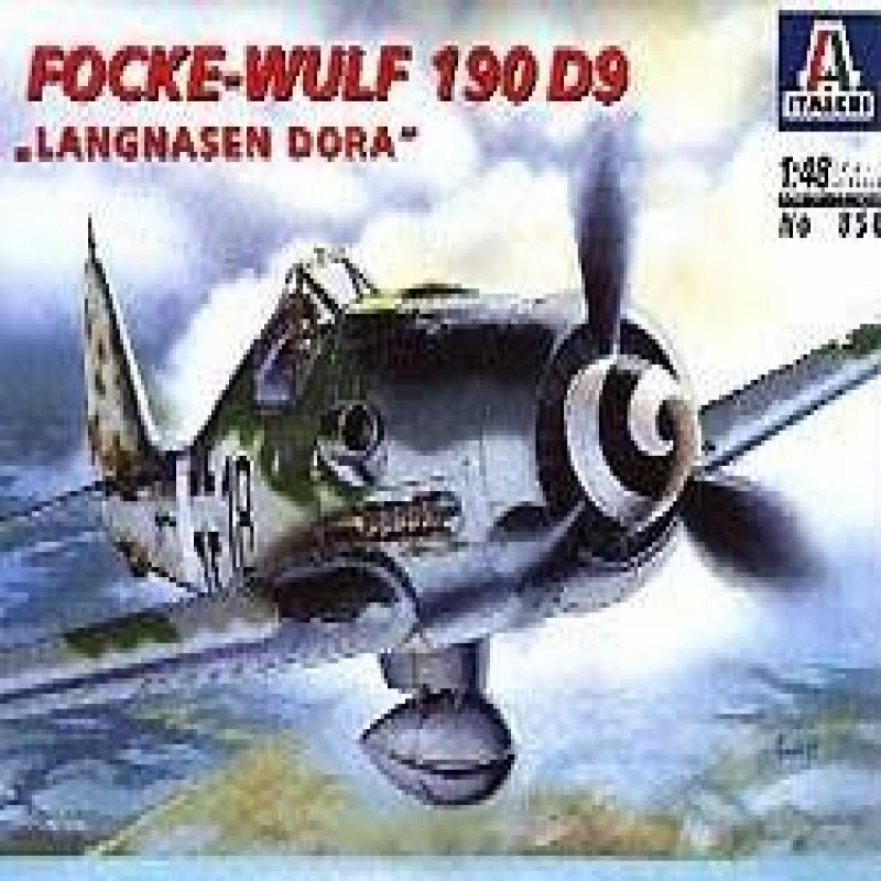 Focke Wulf 190 D9 Langnasen Dora : 1:48 Scale Plastic Model Kit by