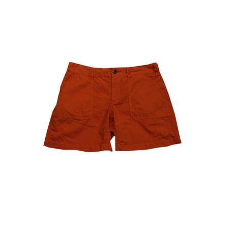 Ralph Lauren Orange Womens Cotton Shorts 4
