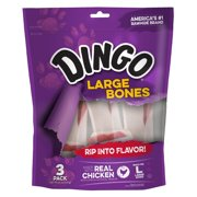 Dingo Large Bones, 3 count