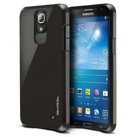 Mega Fun Case - Galaxy Mega 2 Case, Evocel [Lightweight] [Slim Profile] [Dual Layer] [Smooth Finish] [Raised Lip] Armure Series Phone Case for Samsung Galaxy Mega 2 (SM-G750), Slate