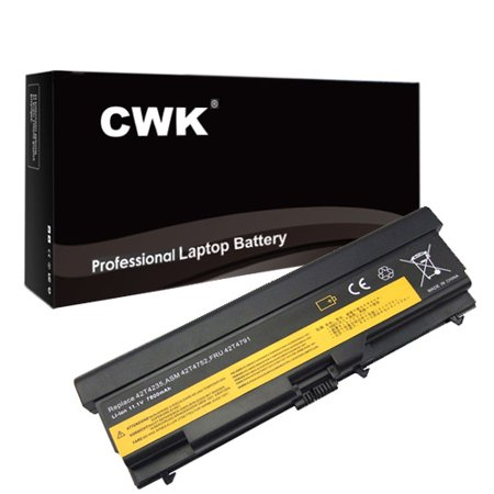 CWK™ 7800mAh 9 Cell New High Capacity Battery for Lenovo ThinkPad 0578F7U 42T4235 42T4708 42T4714 Lenovo ThinkPad Edge 15 E420 E425 E520 E525 42T4757 42T4763 42T4737 T410 T410i T420 T510 T510i