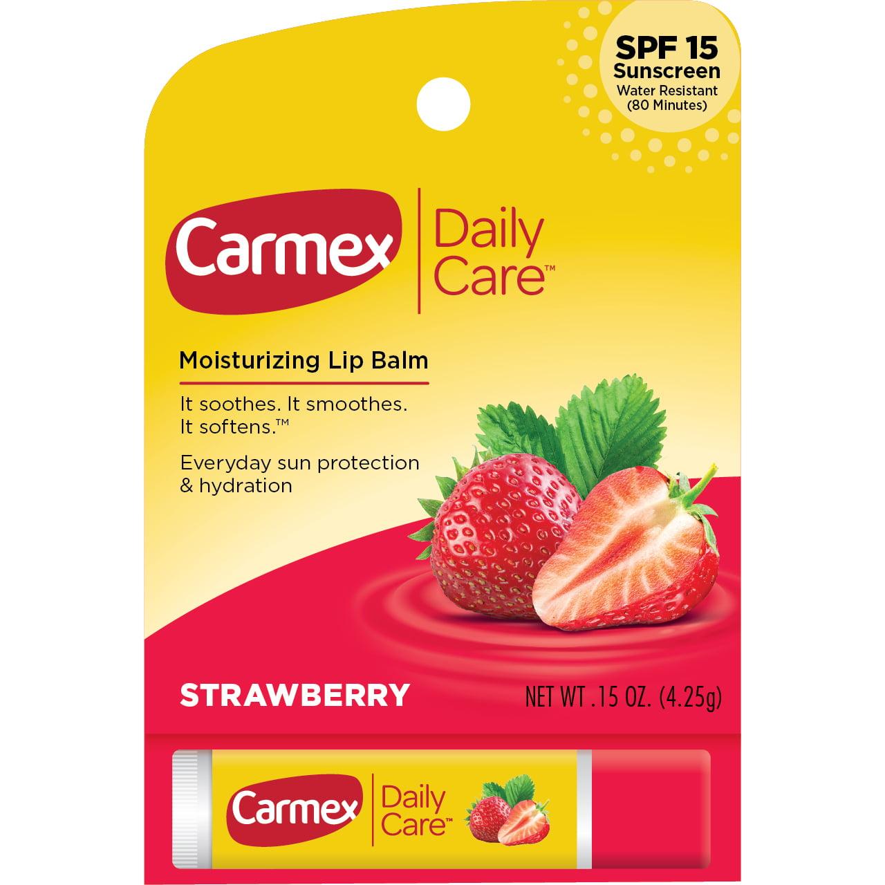Carmex Daily Care Stick Strawberry SPF 15 .15oz