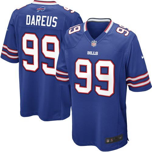 Marcell Dareus Buffalo Bills Nike Youth Team Color Game Jersey - Royal Blue