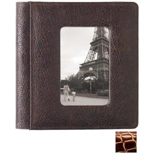 Raika JU 169 WINE 4inch x 6inch Single Front-Framed Photo Album - Wine