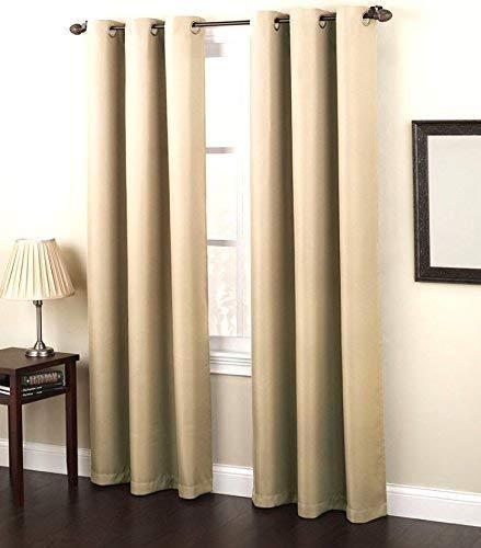 Solid Reflection Thermal Curtain Panel - Overstock Salet - Blue And Yellow Curtains