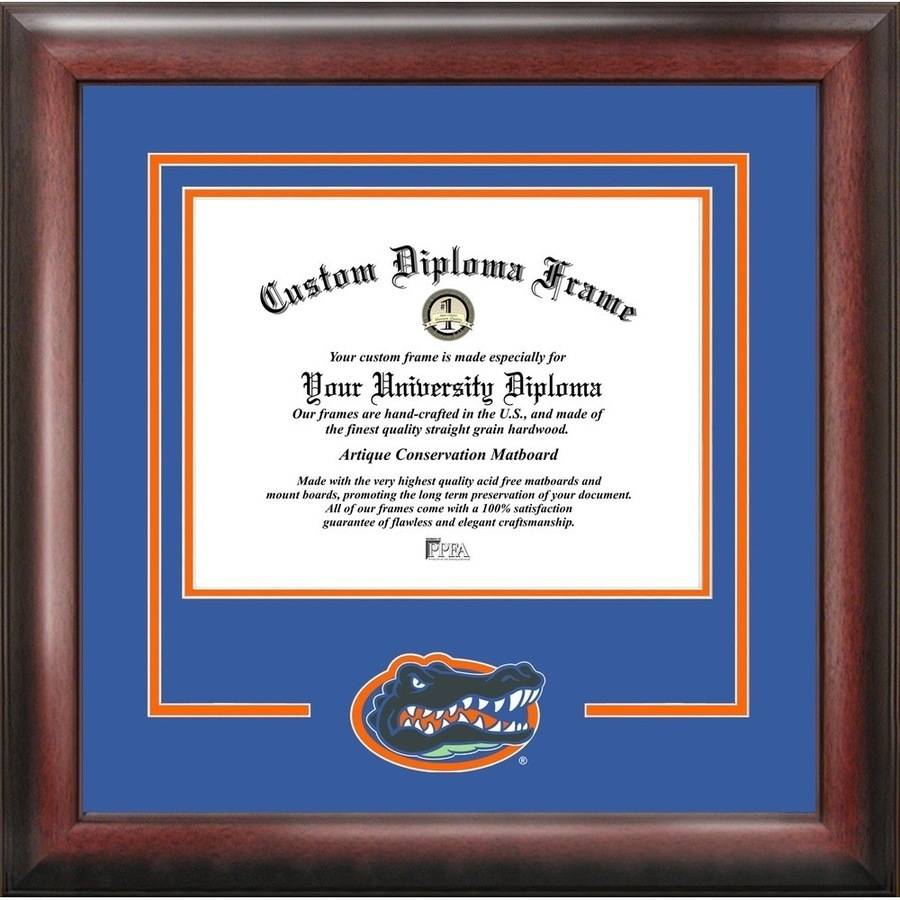 "University of Florida Gators 11.5"" x 16"" Spirit Diploma Frame"