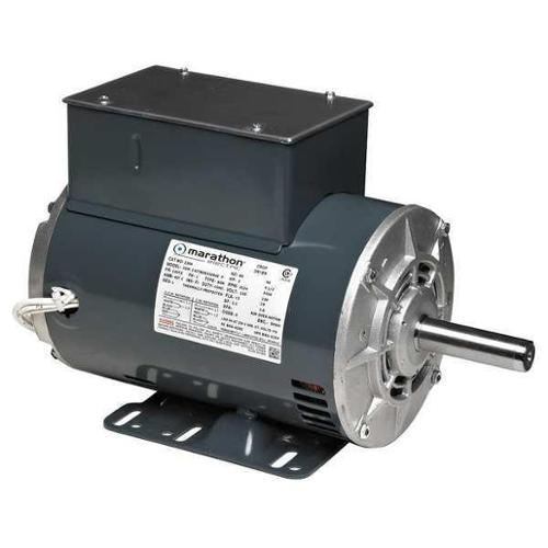 MARATHON MOTORS 184TCDW7615 Farm Duty Motor, 1 Ph, 3535 rpm, 5 HP, 230V