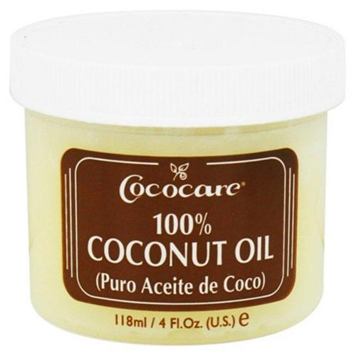 Cococare Coconut Oil,  4 oz (Pack of 2)