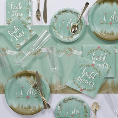 Mint to Be Bridal Shower Party Supplies Kit