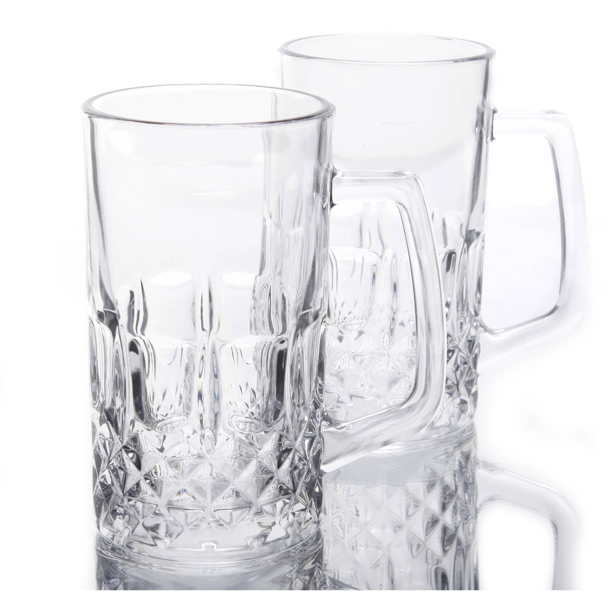 Gibson Home Govan 21-Ounce Beer Mug Set, Set of 4