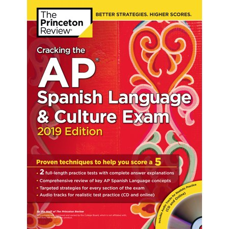 Daily Language Practice Book (Cracking the AP Spanish Language & Culture Exam with Audio CD, 2019 Edition : Practice Tests & Proven Techniques to Help You Score a 5)