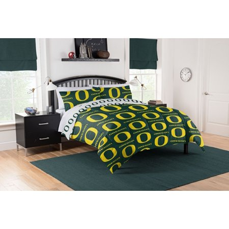 Ncaa Oregon Ducks Full Bed In Bag Set Walmart Com