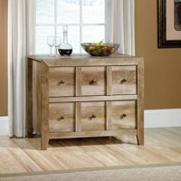 """Sauder Stone Valley TV Stand for TVs up to 42"""", Pioneer Oak Finish"""
