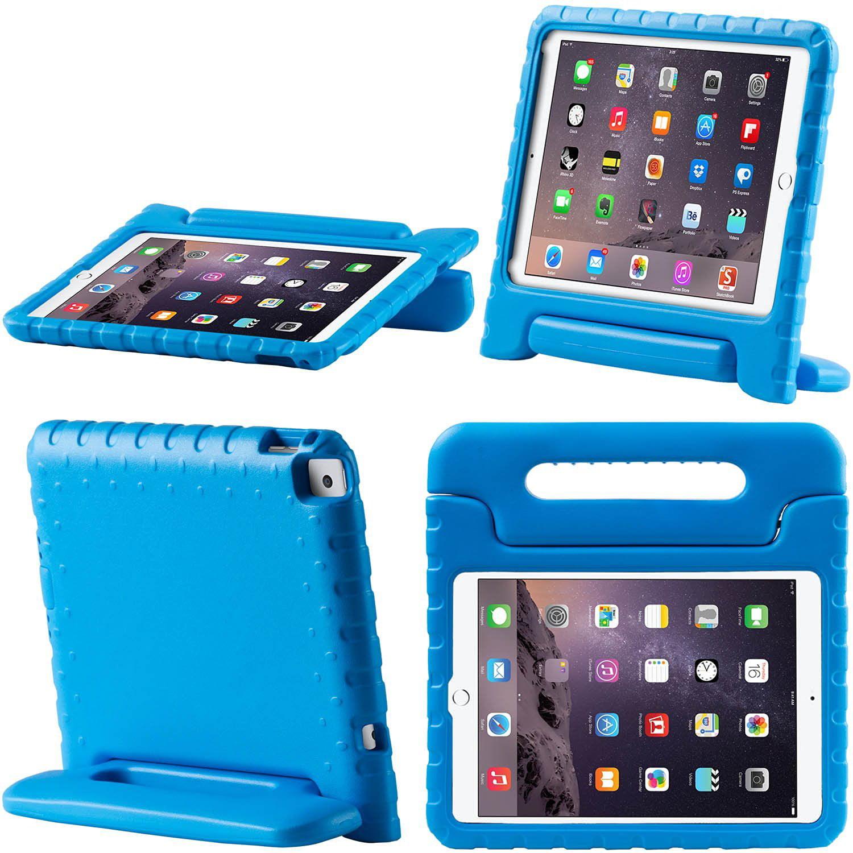 i-Blason Apple iPad Air 2-Armorbox Kido Series Convertible Stand Case - Blue