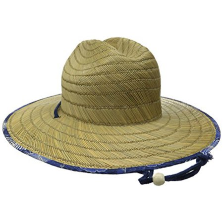 b0fb64bbe6b Roxy - Roxy Women s Tomboy Printed Straw Hat Cotton Blue - Walmart.com