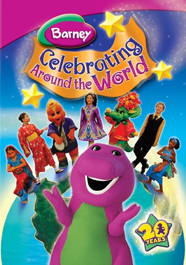 Barney-celebrating Around The World [dvd]-nla (Universal) by Universal