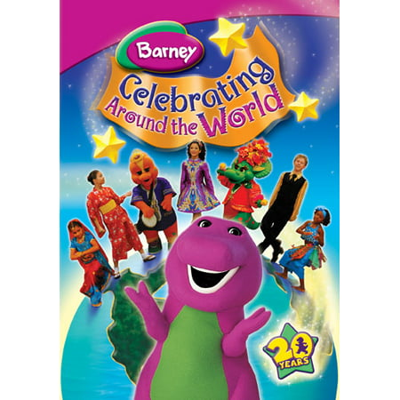Barney-celebrating Around The World [dvd]-nla (Universal) - Is Halloween A Holiday Around The World