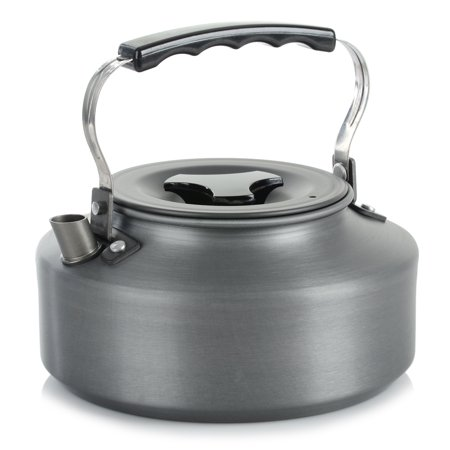 1.1L Portable Outdoor Camping Coffee Pot Water Kettle Teapot with Mesh bag ()