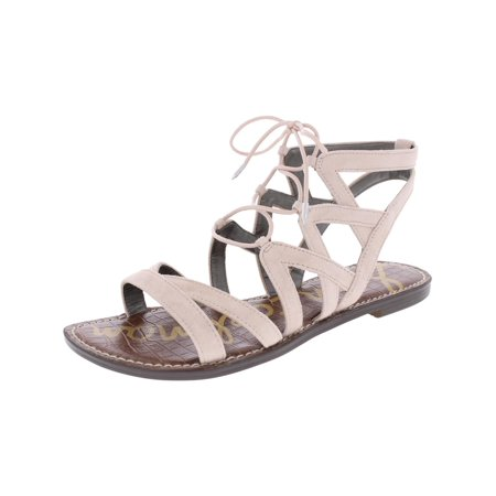 4d086aa680d Sam Edelman - Sam Edelman Womens Gemma Ghillie Lace Up Gladiator Sandals -  Walmart.com