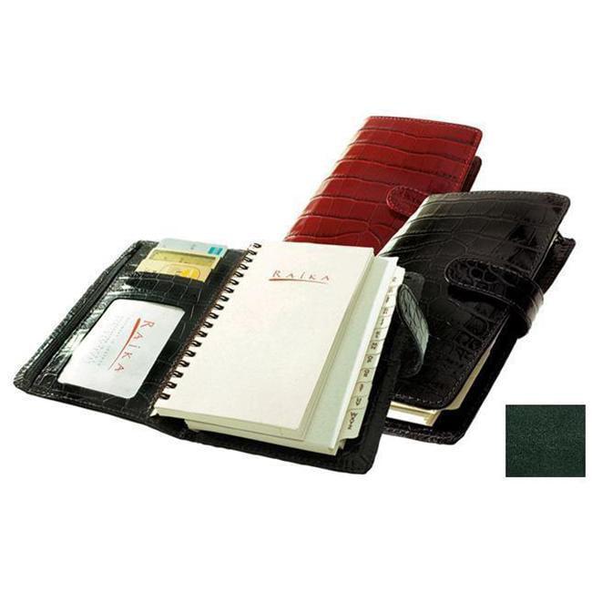 Raika RM 207 GREEN Pocket Planner - Green