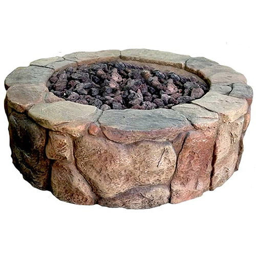 Petra Gas Firepit by Bond