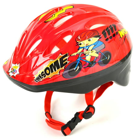 Ryans World Youth Bicycle Helmet (Ages 4-8, Great Protection, Awesome)