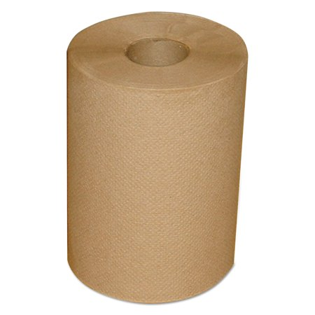 "Morcon Paper Hardwound Roll Towels, 7 7/8"" x 300 ft, Brown, 12/Carton -MOR12300R"