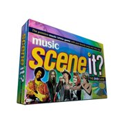 Scene It? Music Edition DVD Game, Features hundreds of artists including Johnny Cash, Madonna, Tina Turner, Blondie and Tim McGraw By Screenlife From USA
