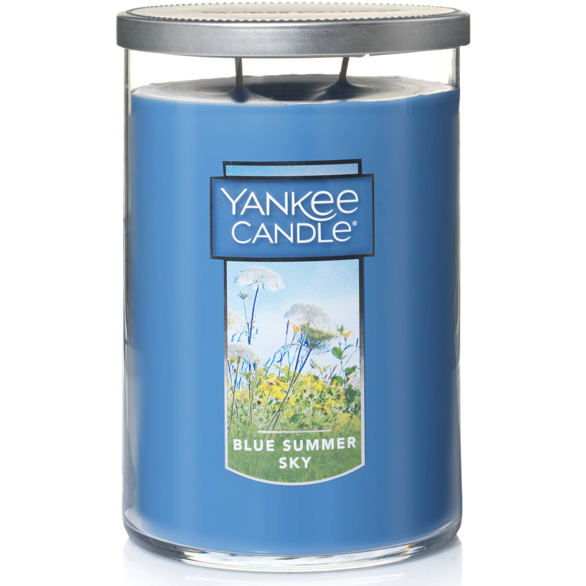 Yankee Candle Large 2-Wick Tumbler Candle, Blue Summer Sky