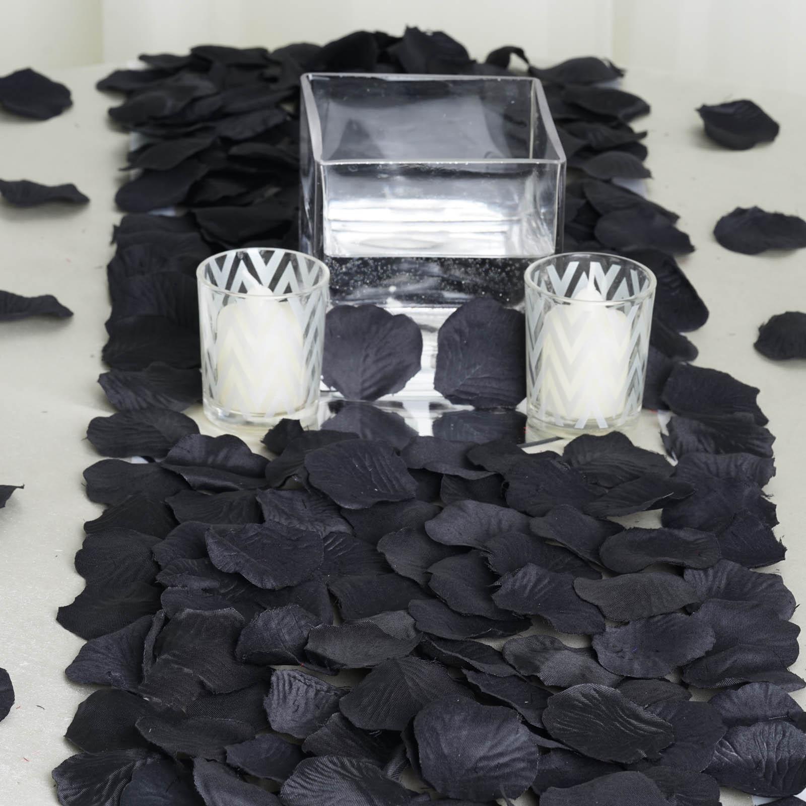 BalsaCircle 500 Silk Rose Petals - Wedding Ceremony Flower Scatter Tables Decorations Bulk Supplies Wholesale
