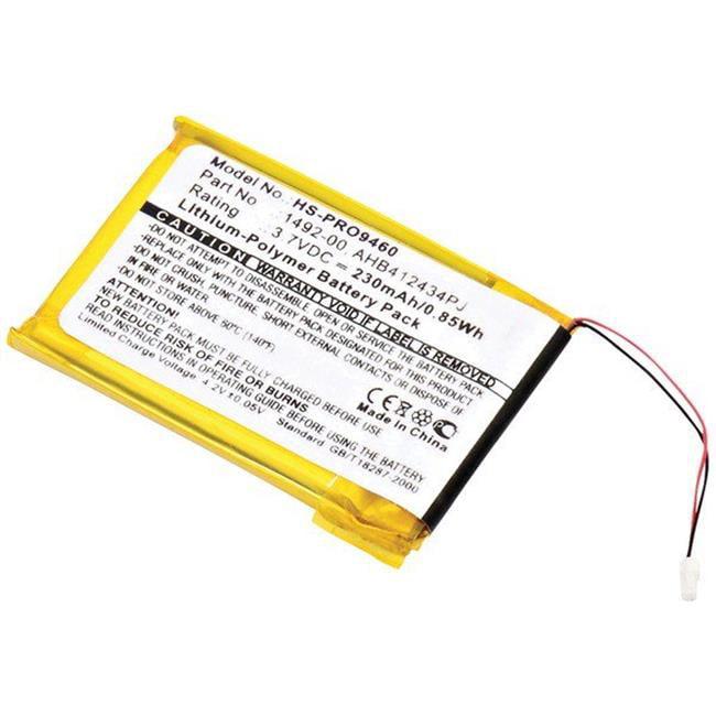 Dantona HS-PRO9460 3.7V 230mAh Lion Headset Replacement Battery - image 1 de 1