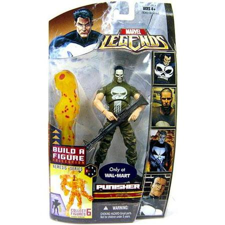 Punisher Action Figure Vietnam Painted Face Variant Marvel Legends