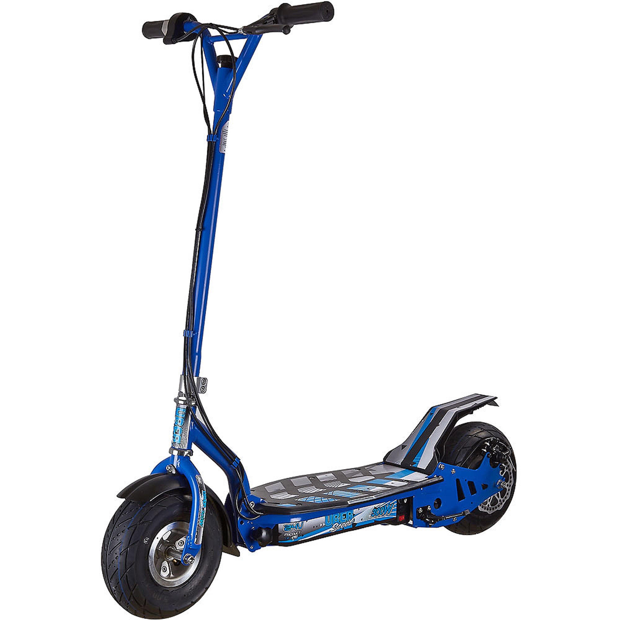 UberScoot 300W Scooter, Blue, by Evo Powerboards