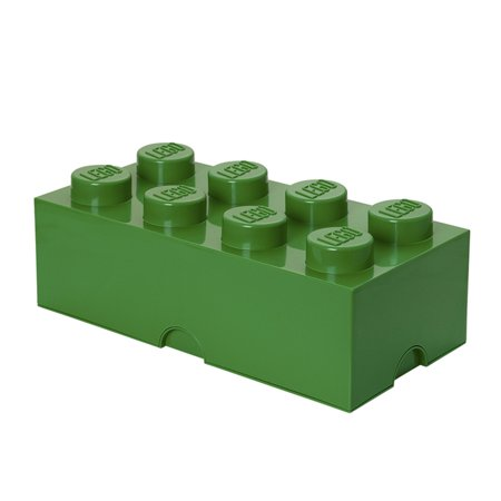 LEGO 8 Brick Storage Case - Green