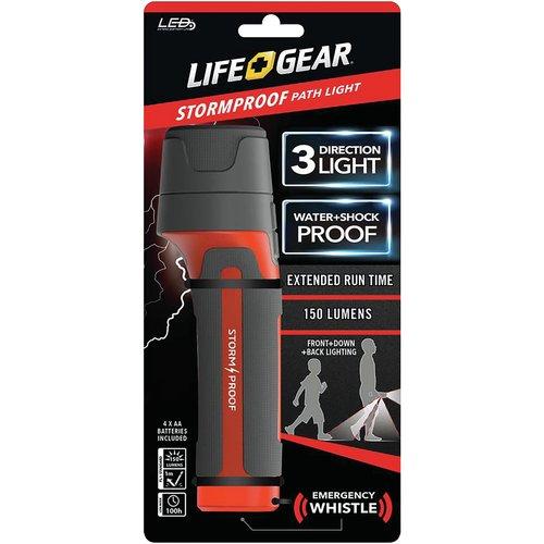Life+gear Ba38-60634-red 150-lumen Stormproof Path Light