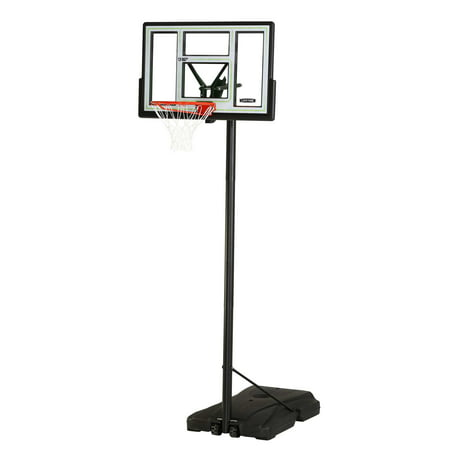 Lifetime Adjustable Portable Basketball Hoop (46-Inch Polycarbonate),