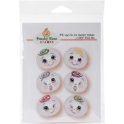 Peachy Keen Stamps Clear Face Assortment 6/pkg-in The Garden Babies