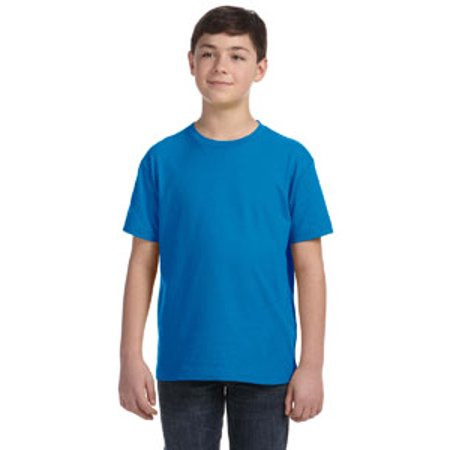 Blue Batting Practice Baseball Jersey - 6101 LA 6101 YOUTH FINE JERSEY TEE COBALT XS
