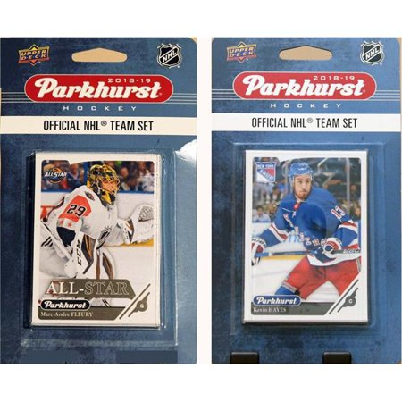 C&I Collectables 18NYRTS NHL New York Rangers 2018-19 Parkhurst Team Set & an All-star set - image 1 of 1