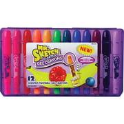 Mr. Sketch Twistable Scented Gel Crayons, 12 Pieces