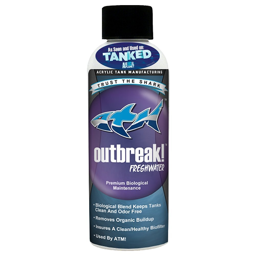 ATM Blue Shark Animal Planet Tanked Outbreak Freshwater Aquarium Cleaner, 4-Ounce