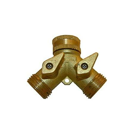 LARSEN SUPPLY CO. INC. 15-4021 Brass Garden Hose (3/4 Copper Pipe Brass)