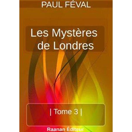LES MYSTÈRES DE LONDRES   TOME 3   - (Londres Natural)