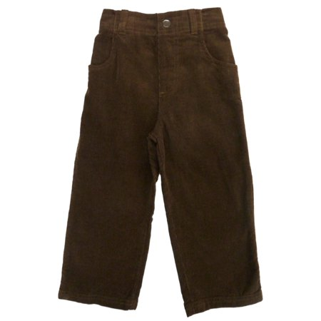 Garnanimals Toddler Boys Brown Corduroy Pants 3T - Walmart.com